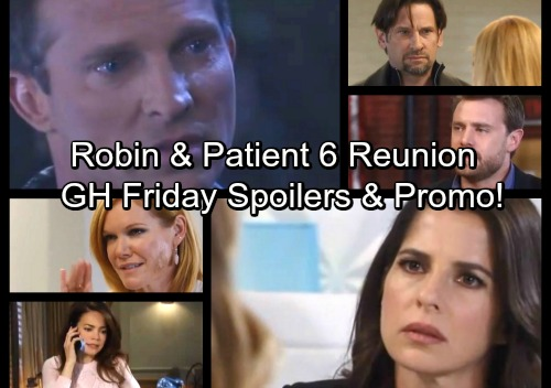 General Hospital Spoilers: Friday, November 17 – Patient Six and Robin's Emotional Reunion – Ava Taunts Franco – Nina Pushes Sam