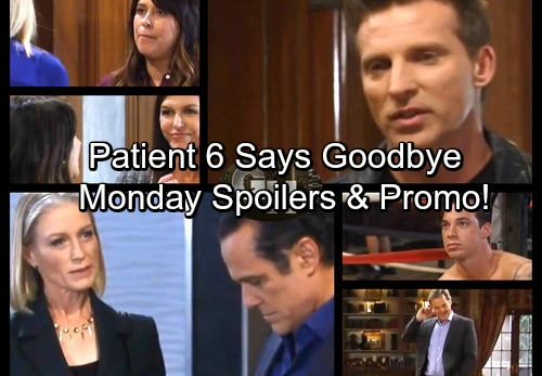 General Hospital Spoilers: Monday, November 20 - Patient Six Says Goodbye – Cassandra Seeks Sonny - Robin Grills Anna