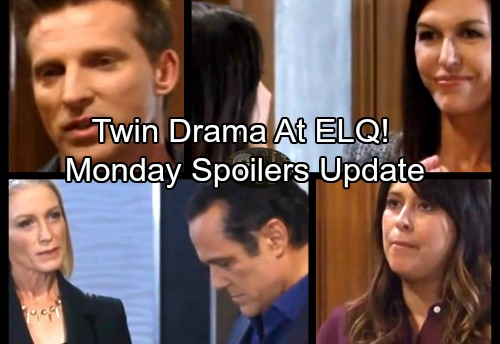 General Hospital Spoilers: Monday, November 20 Update – Jason and Drew Twin Drama At ELQ – Robin Puts Anna on the Hot Seat
