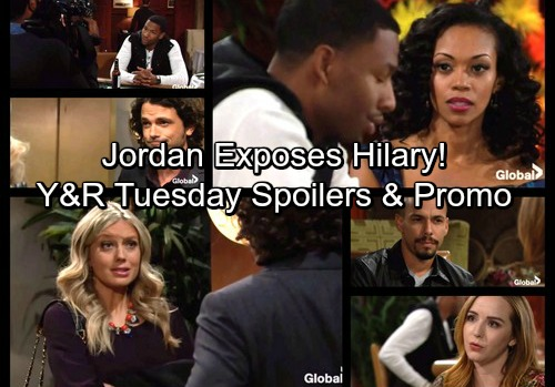 The Young and the Restless Spoilers: Jordan Exposes Stunned Hilary – Abby and Scott Plot Victoria Takedown – Mariah Dumps Devon