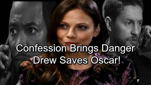 General Hospital Spoilers: Kim's Confession Brings Danger – BM Drew Rescues Oscar From Deadly Threat