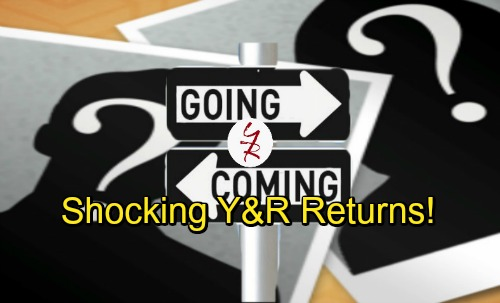 The Young and the Restless Spoilers: Y&R Comings and Goings - Shocking Returns