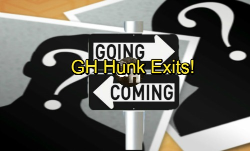 General Hospital Spoilers: Comings and Goings – GH Hunk Exits - Wedding Brings Special Guests and Shockers