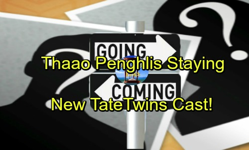 Days of Our Lives Spoilers: Comings and Goings – Thaao Penghlis Sticking Around – Chloe's Brief Exit – New Twins Cast as Tate