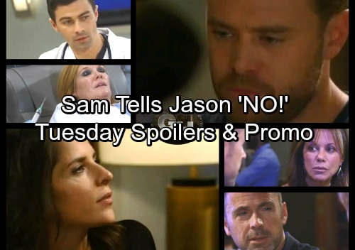 General Hospital Spoilers: Tuesday, November 28 – Curtis Has Andre News – Sam Says No To Jason – Griffin Saves Ava