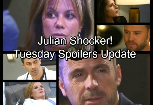General Hospital Spoilers: Tuesday, November 28 Update – Andre Found – Julian Guides Alexis – Josslyn and Oscar Have Dad News