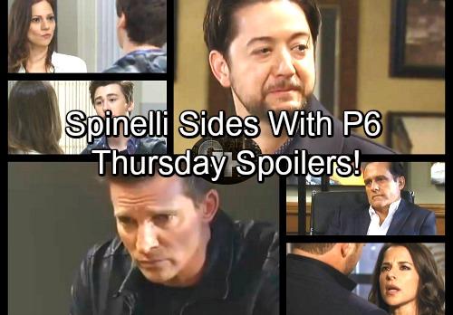 General Hospital Spoilers: Thursday, November 30 – Spinelli Helps Patient Six – Dr. O on the Hot Seat – Oscar Confronts Kim