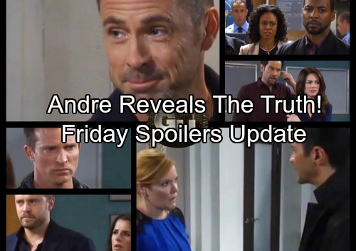 General Hospital Spoilers: Friday, December 1 Update – Jason Morgan and Andrew Cain Revealed, Andre Comes Clean