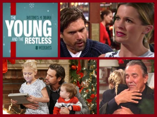 The Young and the Restless Spoilers: Monday, December 1 - Chelsea Fears Christian Paternity Exposure – Victor Drops Bomb on Noah