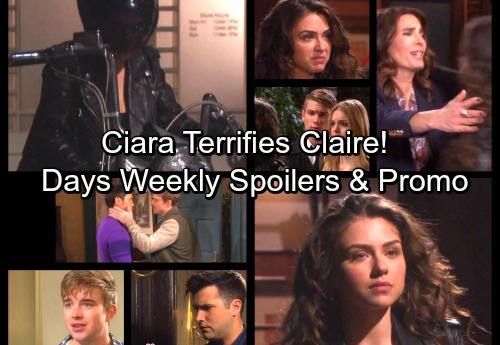 Days of Our Lives Spoilers: Week of Dec. 4 - Paul Kissed by Will, Dumped by Sonny – Ciara's Threat Terrifies Claire