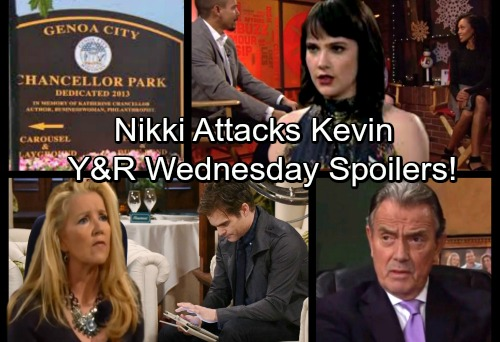 The Young and the Restless Spoilers: Wednesday, December 6 - Furious Nikki Attacks Kevin – Mariah's Shock – Hilary's Risky Offer