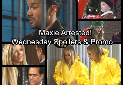 General Hospital Spoilers: Wednesday, December 6 – Sam Works To Get Drew Out Of Jail – Maxie Gets Arrested