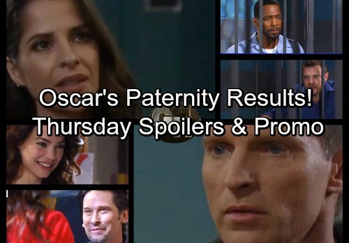 General Hospital Spoilers: Thursday, December 7 – Sam Begs Jason to Help Drew – Nelle Drops Baby Bomb – Oscar Paternity Results