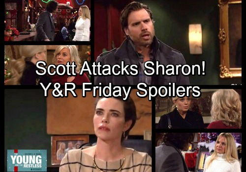 The Young and the Restless Spoilers: Friday, December 8 - Nick Insists Victoria Is Just Like Victor – Scott Blasts Sharon, Wants Abby
