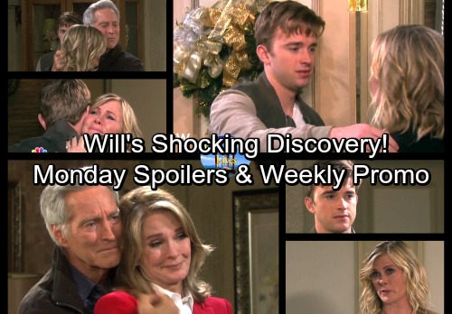 Days of Our Lives Spoilers: Monday, December 11 - Sami's a Happy Mom - Kate's Under Fire – Will's Stunning Discovery