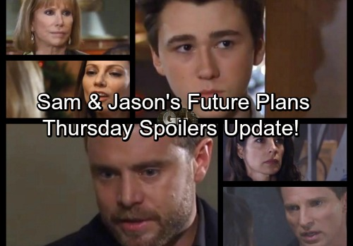 General Hospital Spoilers: Thursday, December 14 Update – Sam and Jason's Future Plans – Drew and Oscar Struggle to Bond