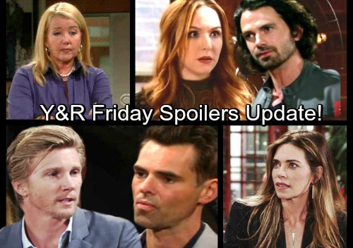 The Young and the Restless Spoilers: Friday, Dec. 15 Update - J.T. Warns Victoria Nikki's Going Down – Mariah Puts Scott on Notice