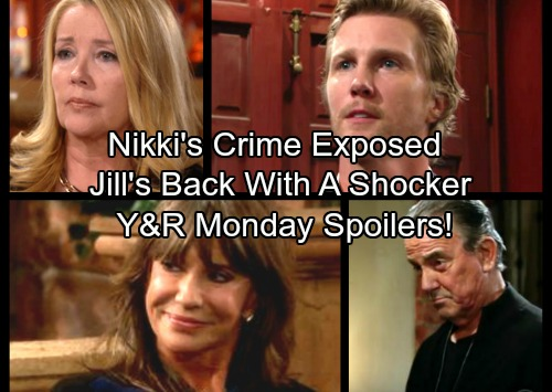 The Young and the Restless Spoilers: Monday, December 18 - J.T.'s News of Nikki's Crime Shocks Victor – Jill's Return Shocker