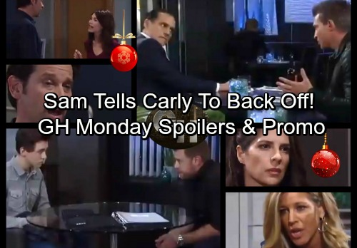 General Hospital Spoilers: Monday, December 18 – Sam Rips Into Carly – Jason's Big News for Sonny – Liz Blasts Lying Franco