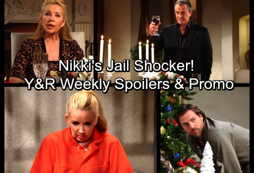 The Young and the Restless Spoilers: Week of December 18 - Nikki's Prison Shocker – J.T. Propositions Abby - Victor The Grinch