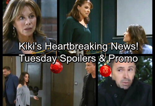 General Hospital Spoilers: Tuesday, December 19 – Jason and Drew Form a Plan – Dr. O Threatens Britt – Kiki Gets Heartbreaking News