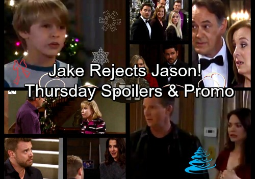 General Hospital Spoilers: Thursday, December 21 – Drew Puts On Sam's New Ring - Maxie Fears Disaster – Jake Throws Jason Out