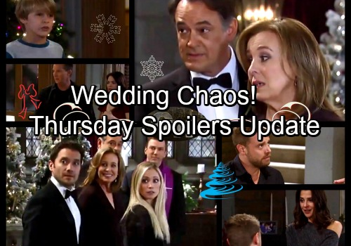 General Hospital Spoilers: Thursday, December 21 Update – Jason Causes Jake Tantrum – Franco Gets Spooked – Wedding Chaos Erupts