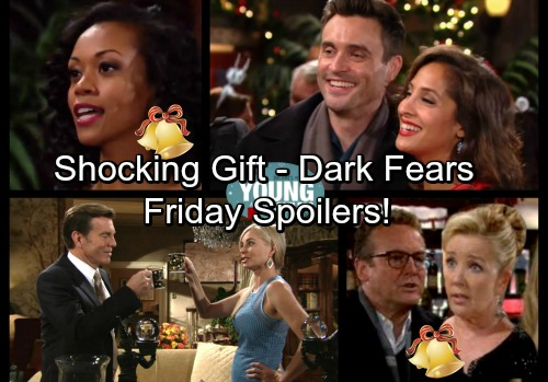 The Young and the Restless Spoilers: Friday, December 22 - Jack's Gift Shocks Ashley – Cane and Lily Duped – Nikki's Dark Fears
