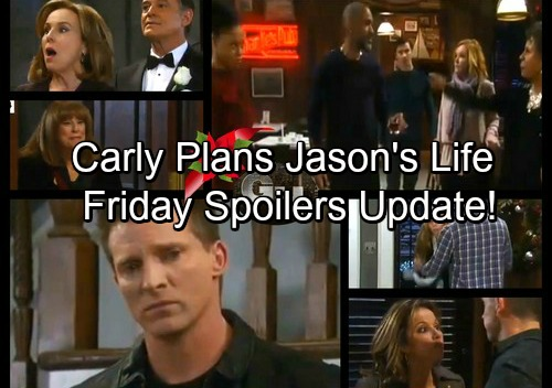 General Hospital Spoilers: Friday, December 22 Update – Carly Plans Jason's Future – Nelle's Baby Panic – Stella Attacks Jordan