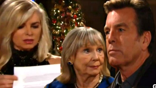 The Young and the Restless Spoilers: Who Is Worse – Ashley For Using Dina's Illness or Jack For Playing Abbott Paternity Card?