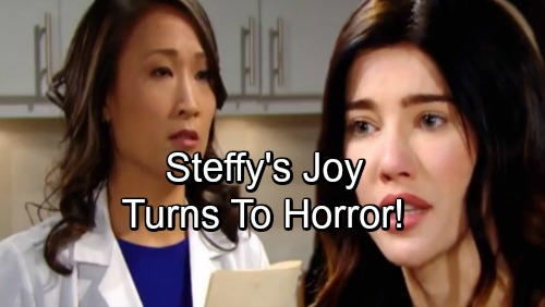 The Bold and the Beautiful Spoilers: Steffy's Joy Turns To Horror – Liam Learns The Truth
