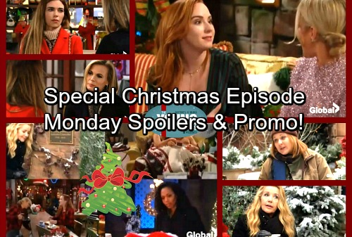 The Young and the Restless Spoilers: Monday, December 25 - Hilary's Sad Past – Nikki Meets A Ghost – Mariah's Sweet Gift