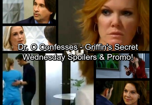 General Hospital Spoilers: Wednesday, December 27 – Dr. Obrecht Confesses to Nathan – Maxie's Mission – Griffin Has a Secret