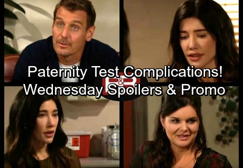 The Bold and the Beautiful Spoilers: Wednesday, December 27 - Thorne Moving In With Katie – Paternity Test Complications
