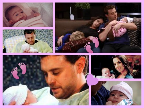 General Hospital Spoilers: Billy Miller and Kelly Monaco Are Great With Babies - Previous Scout Actors Parent Interview