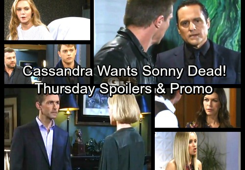 General Hospital Spoilers: Thursday, December 28 – Carly Plots Against Drew – Cassandra Wants Sonny Dead – Nelle Gets A Threat