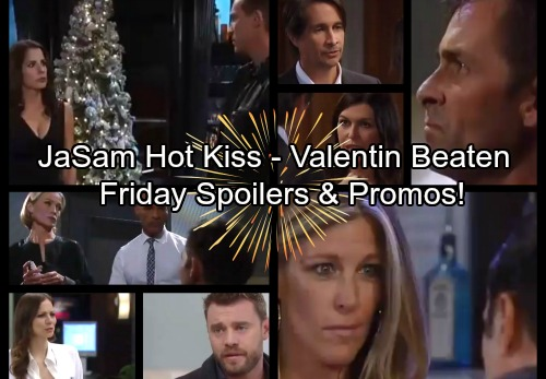 General Hospital Spoilers: Friday, December 29 – Jason and Sam Lock Lips – Valentin Takes a Brutal Beating – Sonny Warns Carly