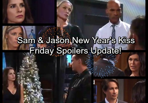 General Hospital Spoilers: Friday, December 29 Update – Valentin Attacked – Carly Sabotages Drew, Sam Can't Resist Jason's Kiss