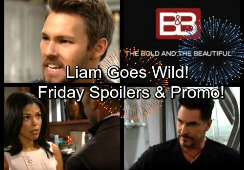 The Bold and the Beautiful Spoilers: Friday, December 29 - Liam Demands the Truth from Sobbing Steffy – Carter's Pining for Maya