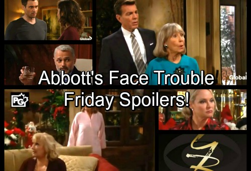 The Young and the Restless Spoilers: Friday, January 5 - Abbotts Face Multiple Shockers – Bratty Abby Stands Her Ground