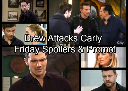 General Hospital Spoilers: Friday, January 5 – Drew Clashes with Carly – Sonny Suspects Dr Obrecht