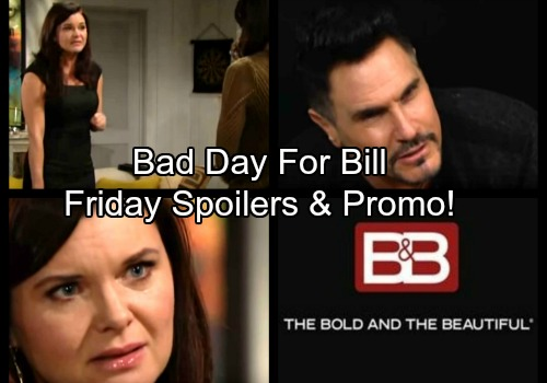 The Bold and the Beautiful Spoilers: Friday, January 5 - Liam Vows The Ultimate Revenge – Katie Learns Steffy Cheated
