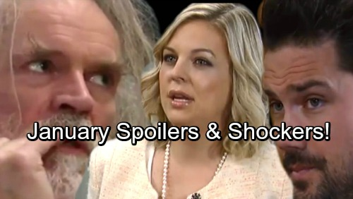 General Hospital Spoilers: January Highlights Promo - Terrorized Nathan and Maxie Try To Hide From Faison