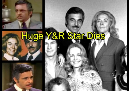 The Young and the Restless Spoilers: Huge Y&R Star Dies - Donnelly Rhodes Dead, Final Farewell to Phillip Chancellor II