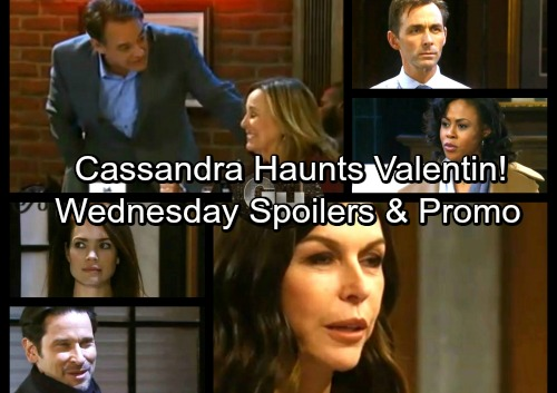 General Hospital Spoilers: Wednesday, January 10 – Cassandra Haunts Valentin – Ned and Laura's Campaigns Kick Off
