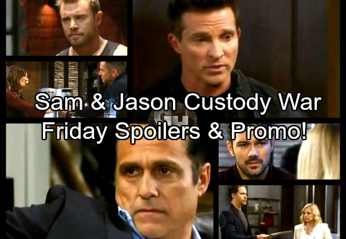 General Hospital Spoilers: Friday, January 12 – Jason and Sam Tackle Custody – Oscar Needs Drew's Help – Julian Flirts with Kim