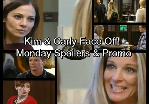 General Hospital Spoilers: Monday, January 15 – Kim and Carly's Showdown – Jason and Sonny Grilled – Peter Stands Up for Lulu