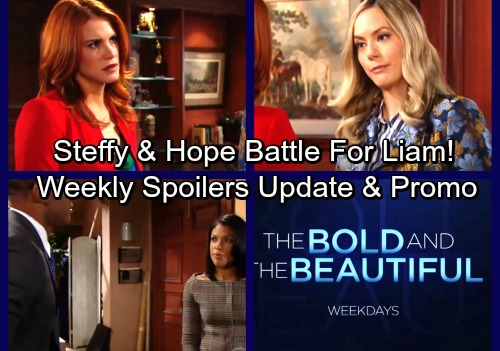 The Bold and the Beautiful Spoilers: Week of January 15 Update - Carter's Confession – Steffy's Desperate Plea – Sally Kisses Liam