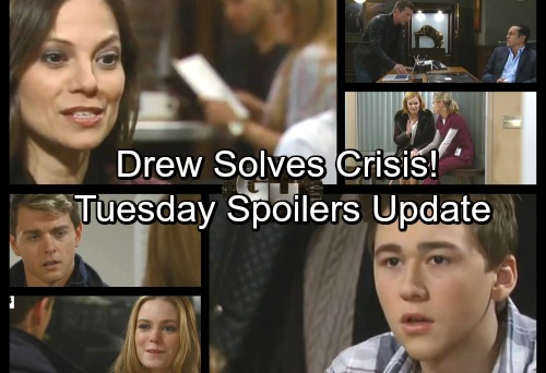 General Hospital Spoilers: Tuesday, January 16 Update – Sonny Certain of Victory – Drew Tackles a Crisis – Nelle Stands Her Ground