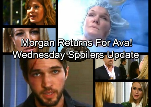 General Hospital Spoilers: Wednesday, January 17 Update – Morgan Haunts Ava in Spooky Hallucination – Carly's Revenge Promise